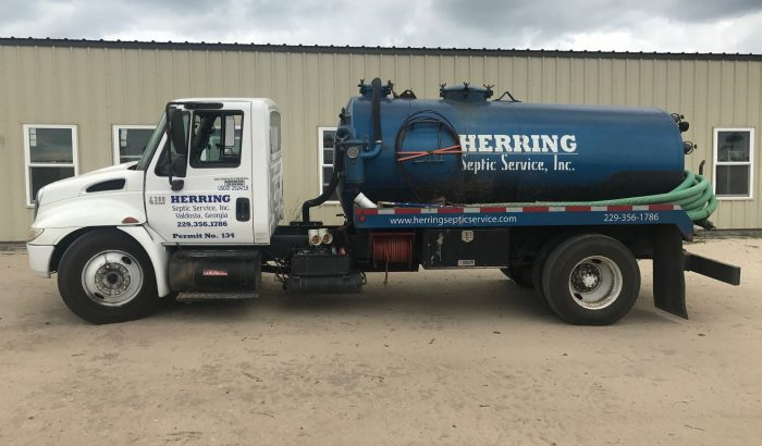 Herring Septic Service Pump Truck Septic Tank Services
